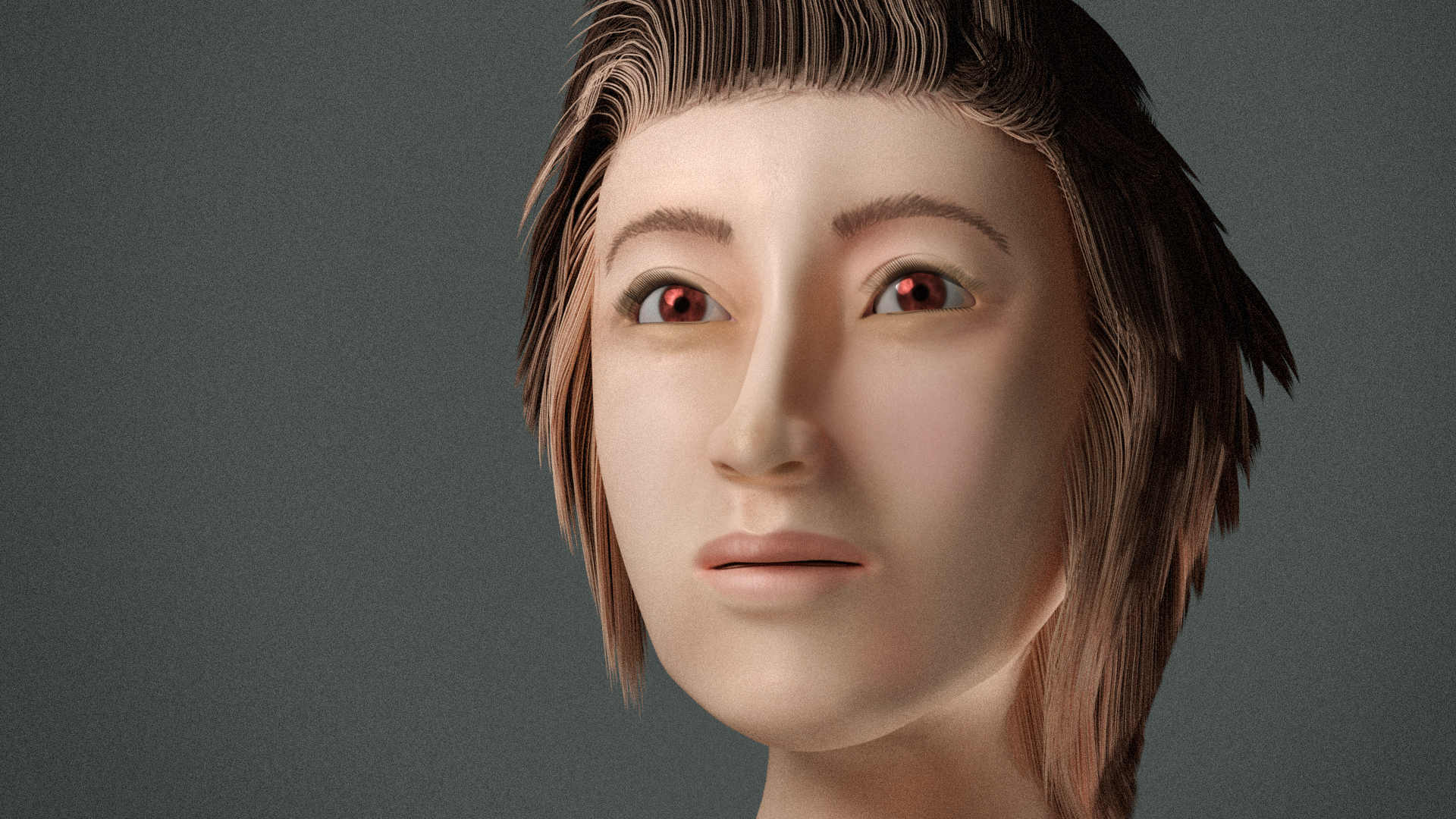 【 Blender】face modeling