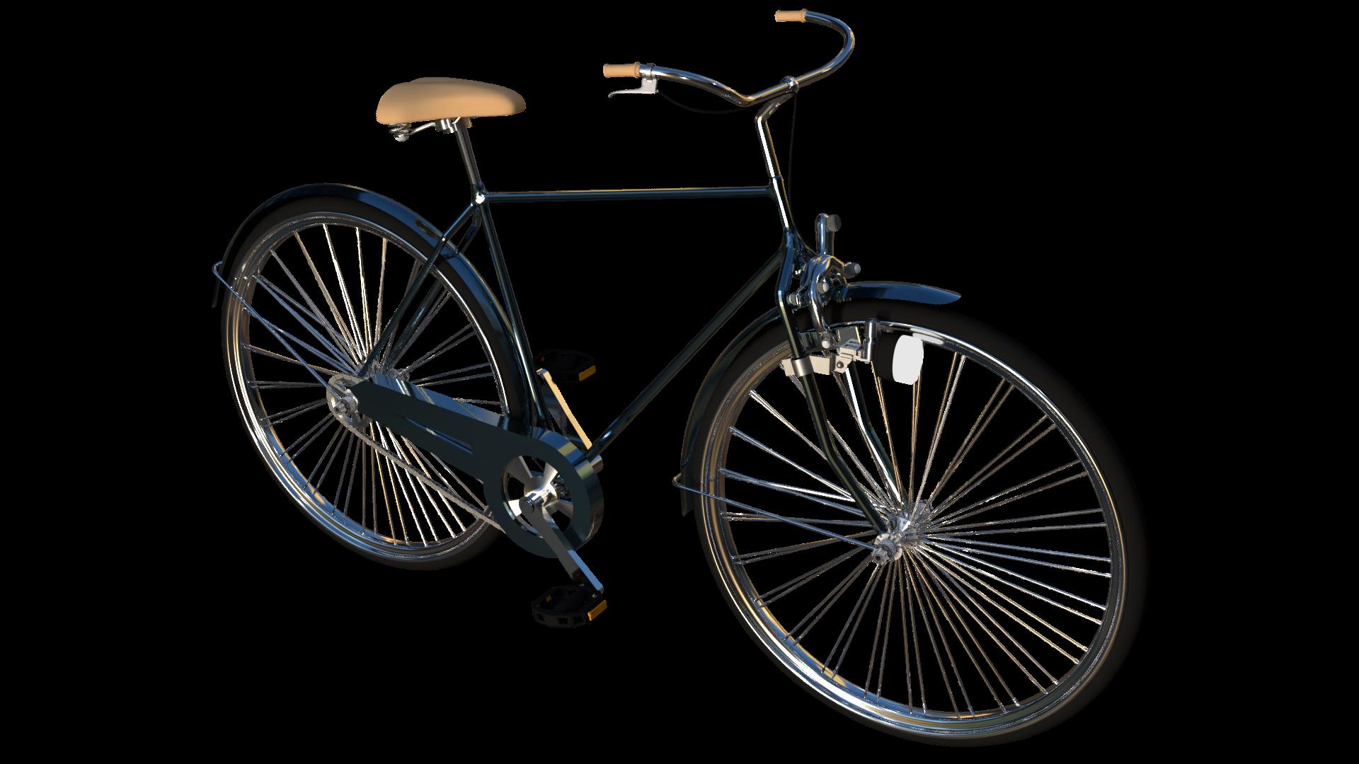 blender モデリング 自転車を作成
