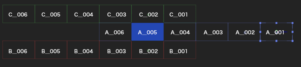 アフターエフェクトのトラジション_slider設定の方法