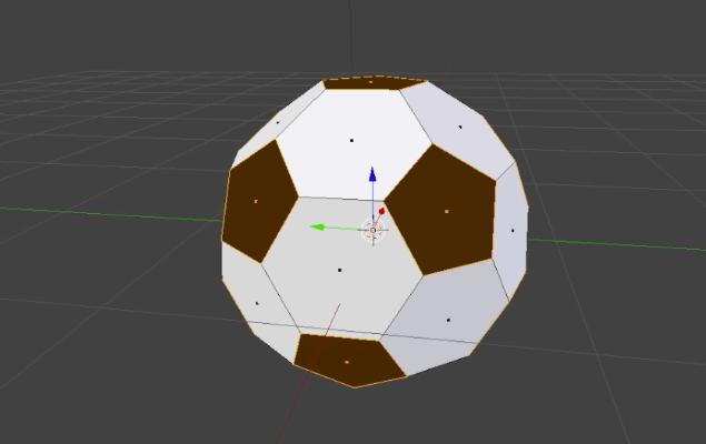 ロシアワールドカップ サッカーボール 作成方法 blender